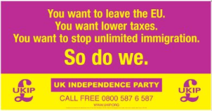 UKIP PICTURE FOR A LEAFLET