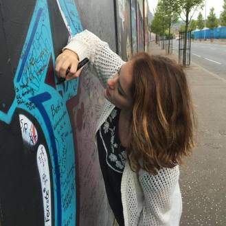 Peace wall <3