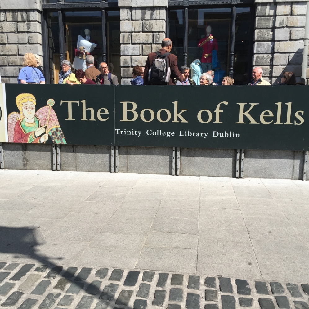 Entrance to the library that holds the Book of Kells.