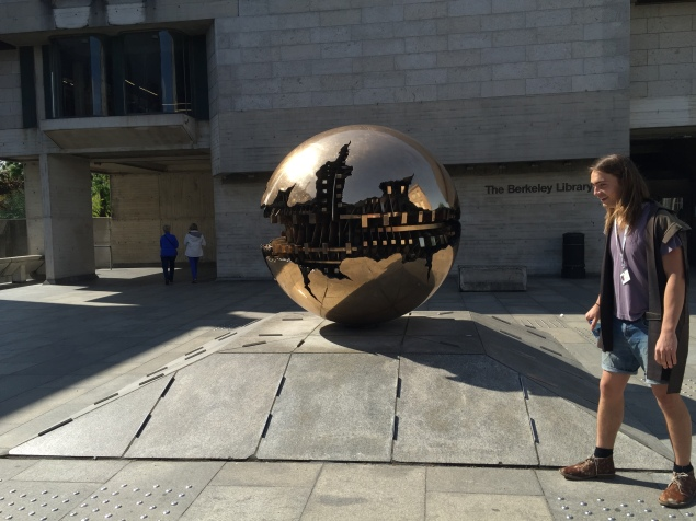 There are 13 of these statues in the world. One of which is located at Trinity College.
