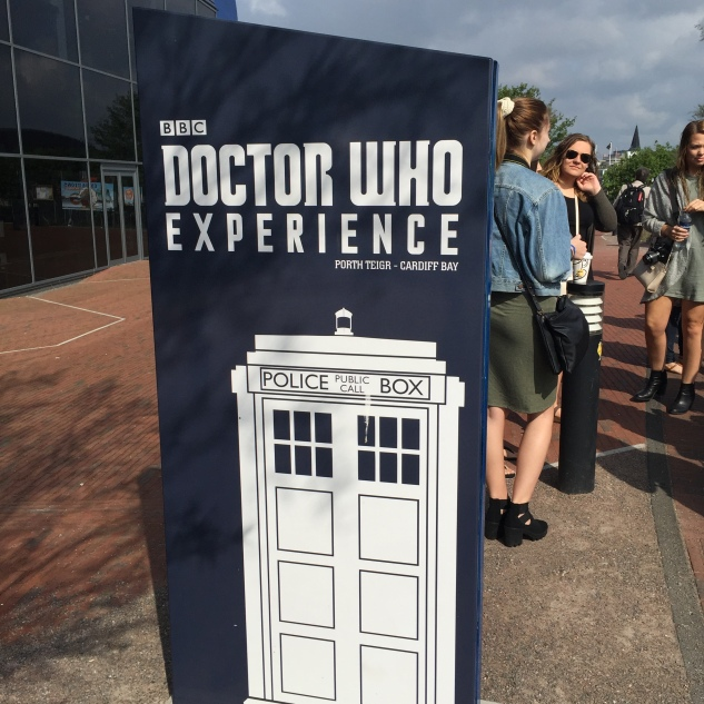 Outside of the Doctor Who Experience