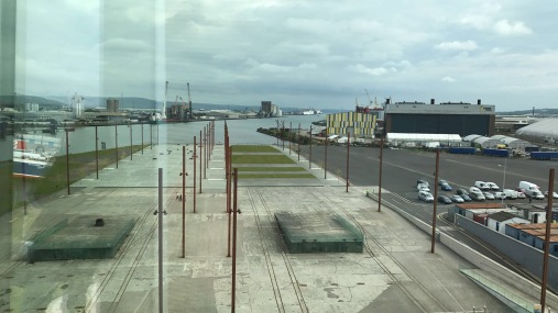 The dock where the titanic was built for three years