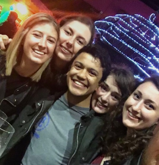 Our Belfast friends that we met at the Angel Olsen concert.