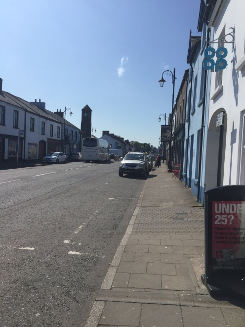 Downtown Ballintoy, Northern Ireland. Population: 150. A prime example of a small Irish town.