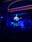 Opening act, Tim Darcy, performing at The Belfast Empire
