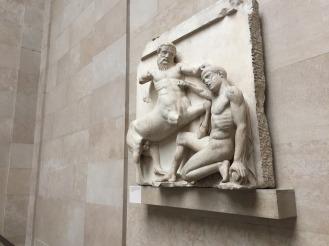 The Parthenon piece that struck me