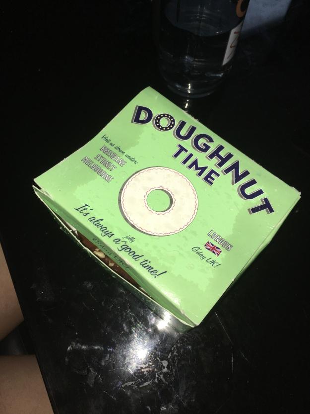 When the doughnut survives the rain>>>>>> (Bridget Bartos)