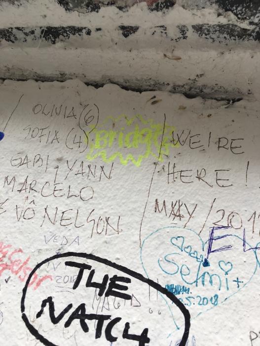 The wall (Bridget Bartos)