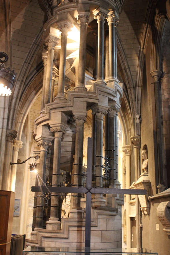Staircase in St. Patricks Cathedral