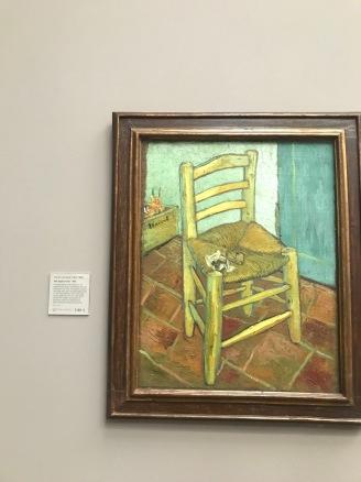 Van Gough's Chair-Vincent van Gough (Courtney Kellogg)