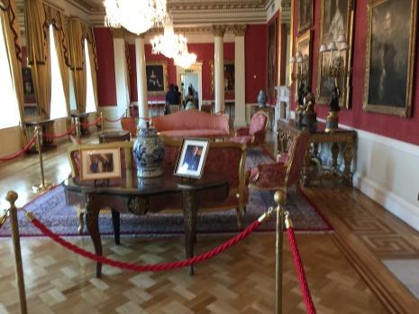 A room at Dublin Castle