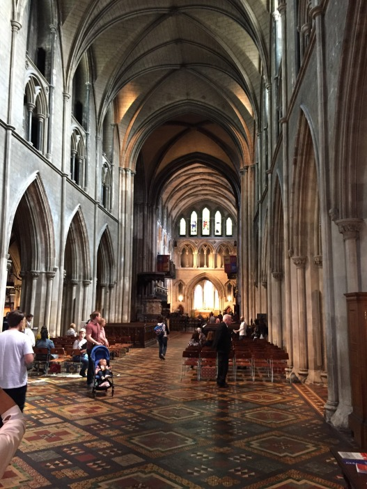 The inside of St. Patrick's Cathedral