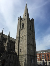 The famous tower at St. Patrick's