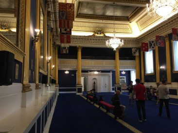 The room at Dublin Castle where Irish Presidents are inaugurated