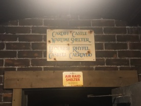 Cardiff Castle Wartime Shelter