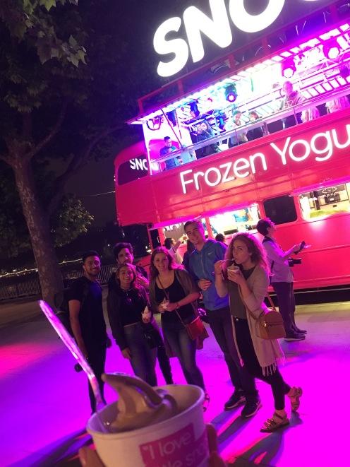 friends and food! (Bridget Bartos)