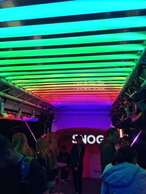 The inside of the bus (Bridget Bartos)