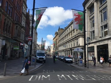 Cardiff Shopping and Eats