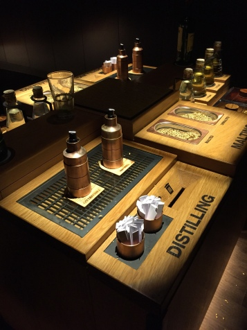 The Jameson museum allowed you to understand the process of distilling the whiskey