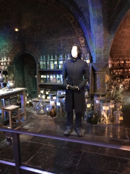 Snape in potions class