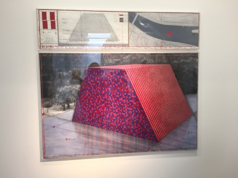 Early plans for the mastaba we saw today