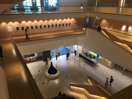 The Design Museum seen from the inside