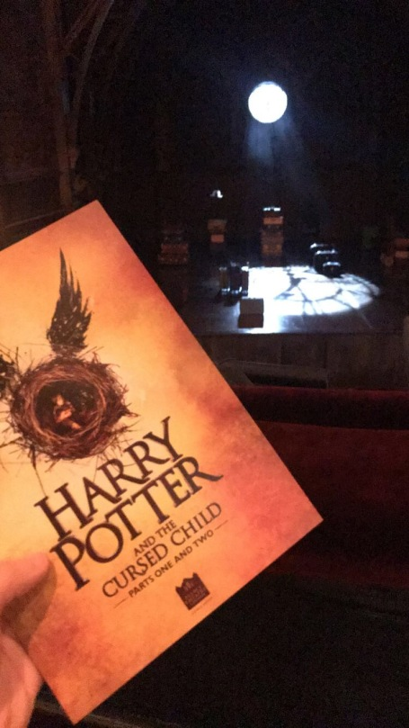 Playbill for Harry Potter (Courtney Kellogg)