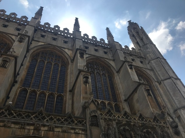 View of King's College Chapel (Courtney Kellogg)