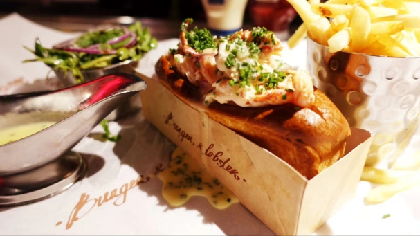 The lobster Burger